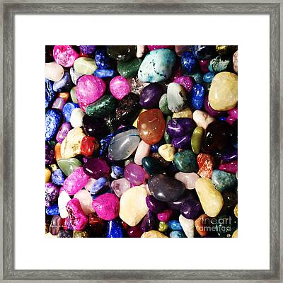 Everyday Abstract 2 Framed Print by Nancy E Stein
