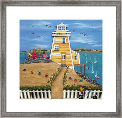 Everything Was Illuminated Framed Print by Anne Klar