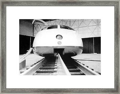 Experimental High Speed Train Framed Print by Underwood Archives