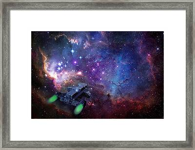 Exploration Framed Print by Carol and Mike Werner