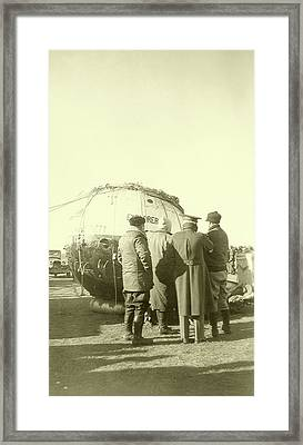 Explorer II High-altitude Balloon Framed Print by Us National Archives