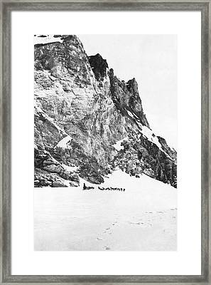 Explorer Roald Amundsen Framed Print by Underwood Archives