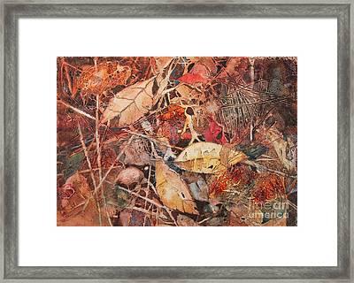 Fallen Framed Print by Elizabeth Carr