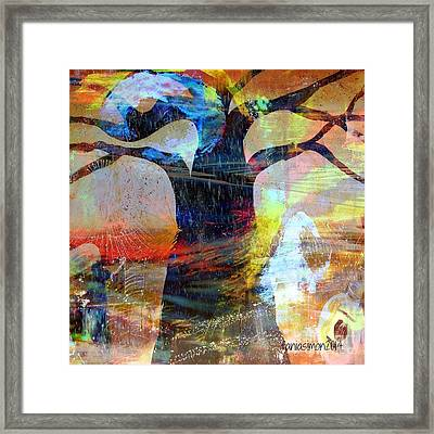 Family Connection Framed Print by Fania Simon