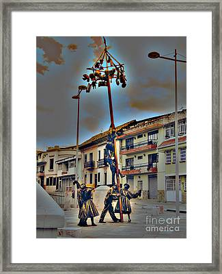 Family Cooperation Framed Print by Al Bourassa