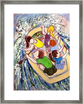Family Vacation Framed Print by Marilyn Jacobson