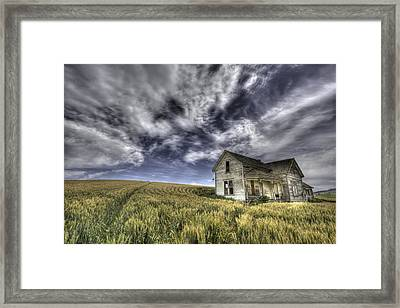 Farmhouse Framed Print by Latah Trail Foundation
