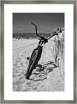 Fat Tire Framed Print by Peter Tellone
