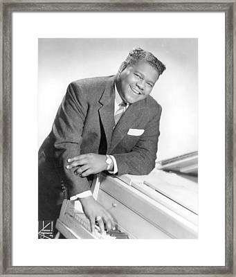 Fats Domino Framed Print by Silver Screen