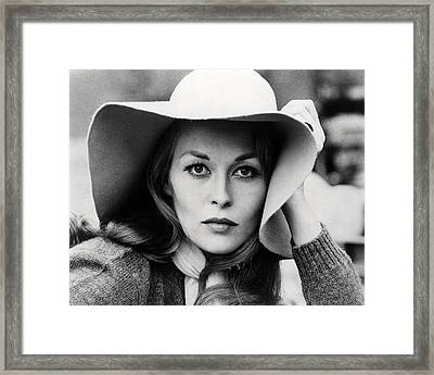 Faye Dunaway In Network  Framed Print by Silver Screen