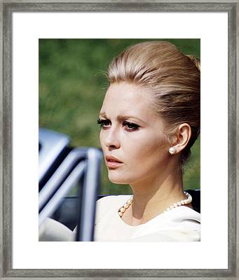 Faye Dunaway In The Thomas Crown Affair  Framed Print by Silver Screen