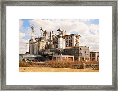 Feed Mill Framed Print by Charles Beeler