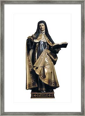 Fernandez, Gregorio 1576-1636. Saint Framed Print by Everett