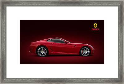 Ferrari 599 Gtb Framed Print by Douglas Pittman