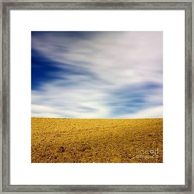 Field  Framed Print by Bernard Jaubert