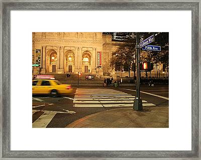 Fifth Avenue Framed Print by Dan Sproul