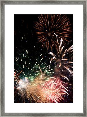 Fireworks Framed Print by Gaurav Singh
