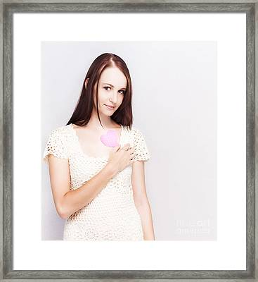 First Love And Innocence Framed Print by Jorgo Photography - Wall Art Gallery
