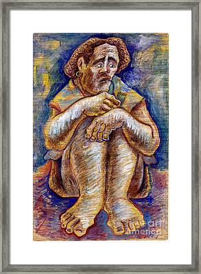 Fisherman Framed Print by Milen Litchkov