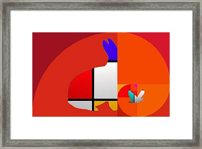 Flight Framed Print by Charles Stuart