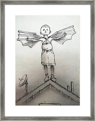 Flight Framed Print by H James Hoff