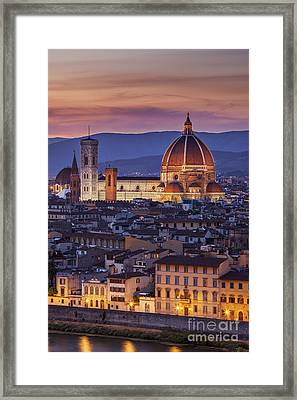 Florence Duomo Framed Print by Brian Jannsen