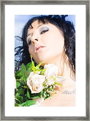 Flower Beauty Framed Print by Jorgo Photography - Wall Art Gallery