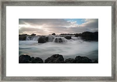 Flowing Waters Framed Print by Shari Mattox