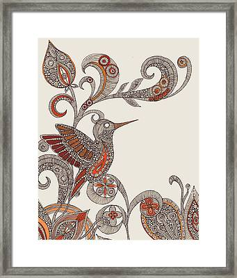 Flying Framed Print by Valentina Ramos