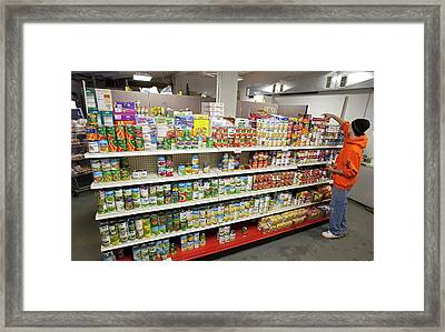 Food Bank Framed Print by Jim West