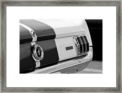 1966 Ford Shelby Mustang Gt 350 Taillight Framed Print by Jill Reger