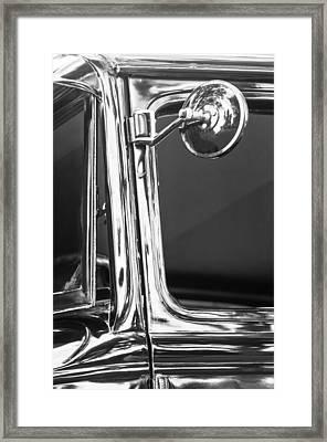 Ford Rear View Mirror Framed Print by Jill Reger