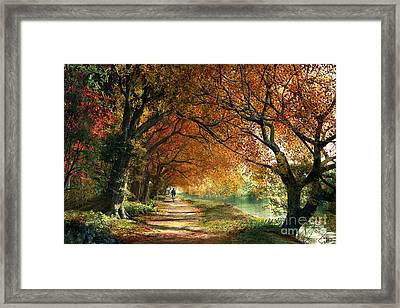 Forever Autumn Framed Print by Dominic Davison