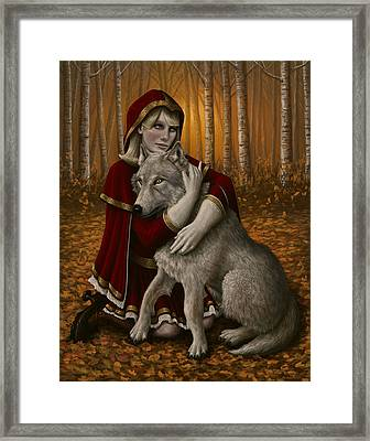 Forgiveness Framed Print by Mark Zelmer