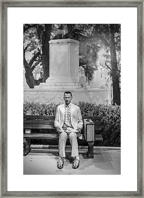 Forrest Gump Framed Print by Mountain Dreams