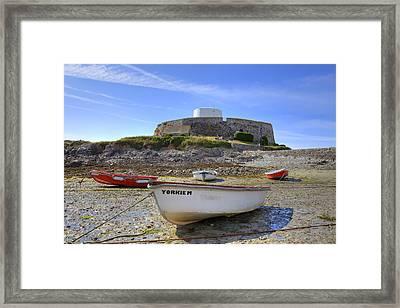Fort Grey - Guernsey Framed Print by Joana Kruse