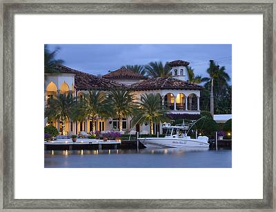 Fort Lauderdale Framed Print by Christian Heeb