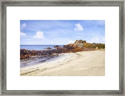 Fort Pembroke - Guernsey Framed Print by Joana Kruse
