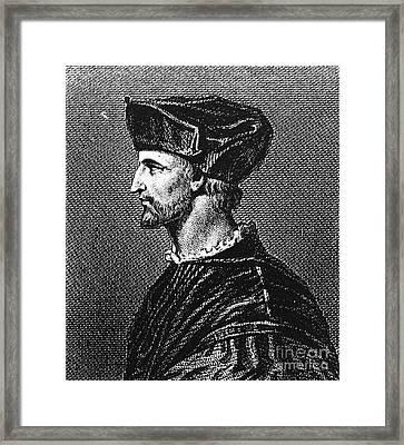 Francois Rabelais Framed Print by Granger