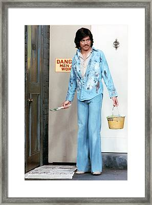 Freddie Prinze In Chico And The Man  Framed Print by Silver Screen