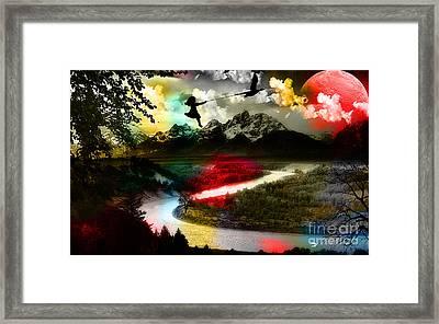 Free As A Bird Framed Print by Marvin Blaine