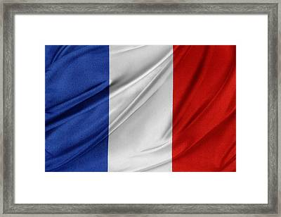 French Flag  Framed Print by Les Cunliffe