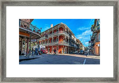 French Quarter Afternoon Framed Print by Steve Harrington