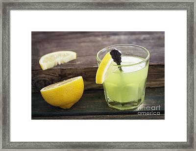 Fresh Lemonade Framed Print by Mythja  Photography