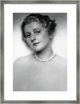 Friedl Haerlin (1901-1981) Framed Print by Granger