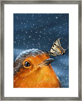 Friends Framed Print by Veronica Minozzi