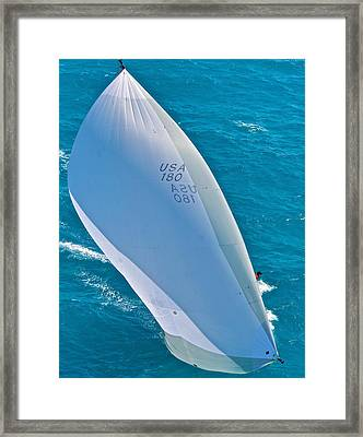 Full Sails Framed Print by Steven Lapkin