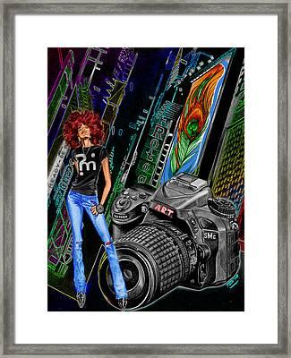 Funkytown Framed Print by Terri Meredith