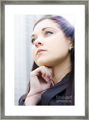 Future Business Aspirations Framed Print by Jorgo Photography - Wall Art Gallery