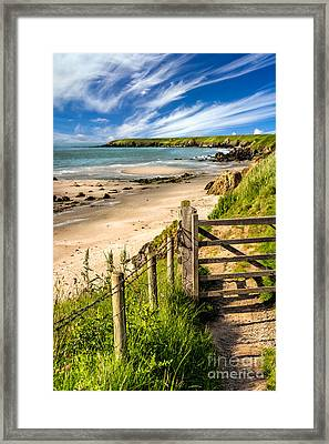 Gate To Paradise Framed Print by Adrian Evans